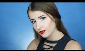 Easy Wearable 4th of July Makeup Tutorial