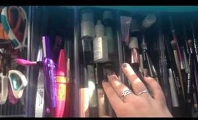 Makeup Collection and Vanity Room Tour 2015