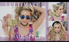 3 Ultimate 90's Hairstyles
