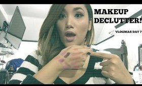 MAKEUP DECLUTTER - VLOGMAS 2015 - DAY 7