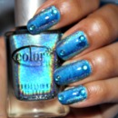 Blue Holographic Awesomeness 2