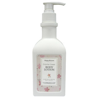The Face Shop Happy Blossom Oriental Flower Body Lotion