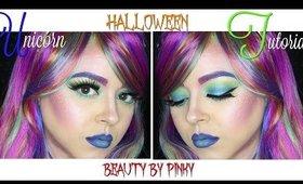 Unicorn Halloween Tutorial   Beauty by Pinky