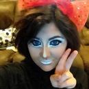 Ganguro makeup