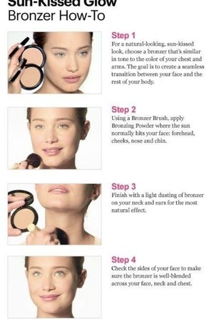 How to apply bronzer beautylish i like to use a fan brush or an angled blush brush ccuart Images