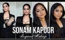 SONAM KAPOOR Inspired Makeup | Smokey Eyes and Dewy Skin | Stacey Castanha