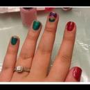 little mermaid inspired nails