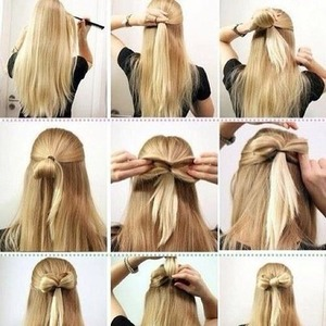 How to do a hair bow, literally!!