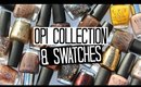 O.P.I Collection & Swatches - Golds, Nudes, Taupes & Browns