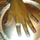 Christmas self manicure