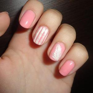 Have short pink nails ?