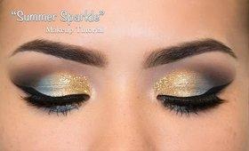 """Summer Sparkle"" Makeup Tutorial"