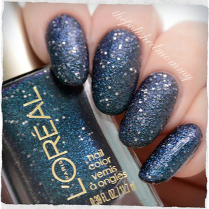 Swatch and review on the blog: http://www.thepolishedmommy.com/2014/01/loreal-hidden-gems.html  #loreal #purchsedbyme