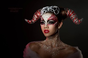 """Aries"" from Zodiac Photoshoot HMUA & Style: Angie Y - MakeUp ArtStyle - Photographer: Ladyphoto Model: Cheri Watts-Sands"