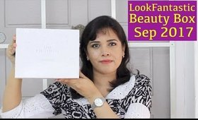 LookFantastic Beauty Box September 2017 Unboxing, Review