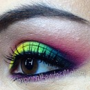 Colorfull makeup