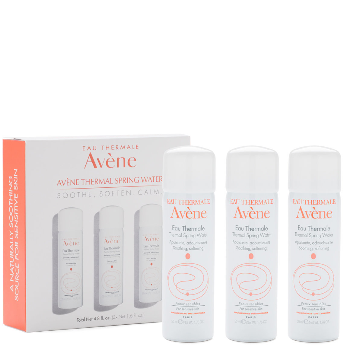 Eau Thermale Avène Thermal Spring Water 3-To-Go alternative view 1 - product swatch.