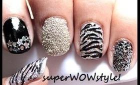 Glitter Mania! - Glitter Nail Art Tutorial - (BY superwowstyle)