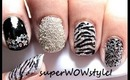 Glitter Mania! - Glitter Nail Art Tutorial - (BY superwowstyle)