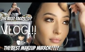 LIGHTS, MIRRORS, TACOS!!! VLOG +HUGE GLAMCOR GIVEAWAY! |Nura Afia