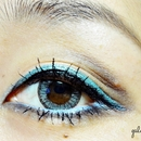 Summer Blue Eye Look