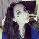 Makeup inspired on favole's charachter