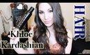 Khole Kardashian Hair Tutorial