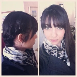 I think this is such a great look for the winter time!