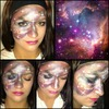 Galaxy Inspired Makeup ft. Bh cosmetics galaxy chic palette