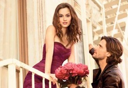Leighton Meester is the Face of Vera Wang 'Lovestruck' Fragrance