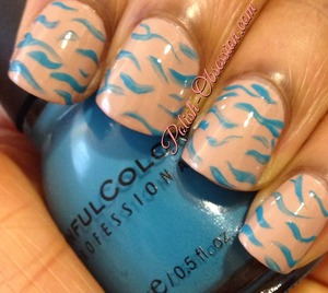 http://www.polish-obsession.com/2014/01/busy-girl-nails-winter-nail-art_13.html #nailart