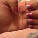 glitter nails ?