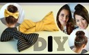 DIY Recycle Ties to Bows & Necklaces to Hair Accessory Feat. CuteGirlsHairStyles