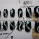 Green Waves Nails