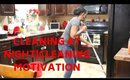 NIGHT TIME CLEAN WITH ME|CLEANING MOTIVATION