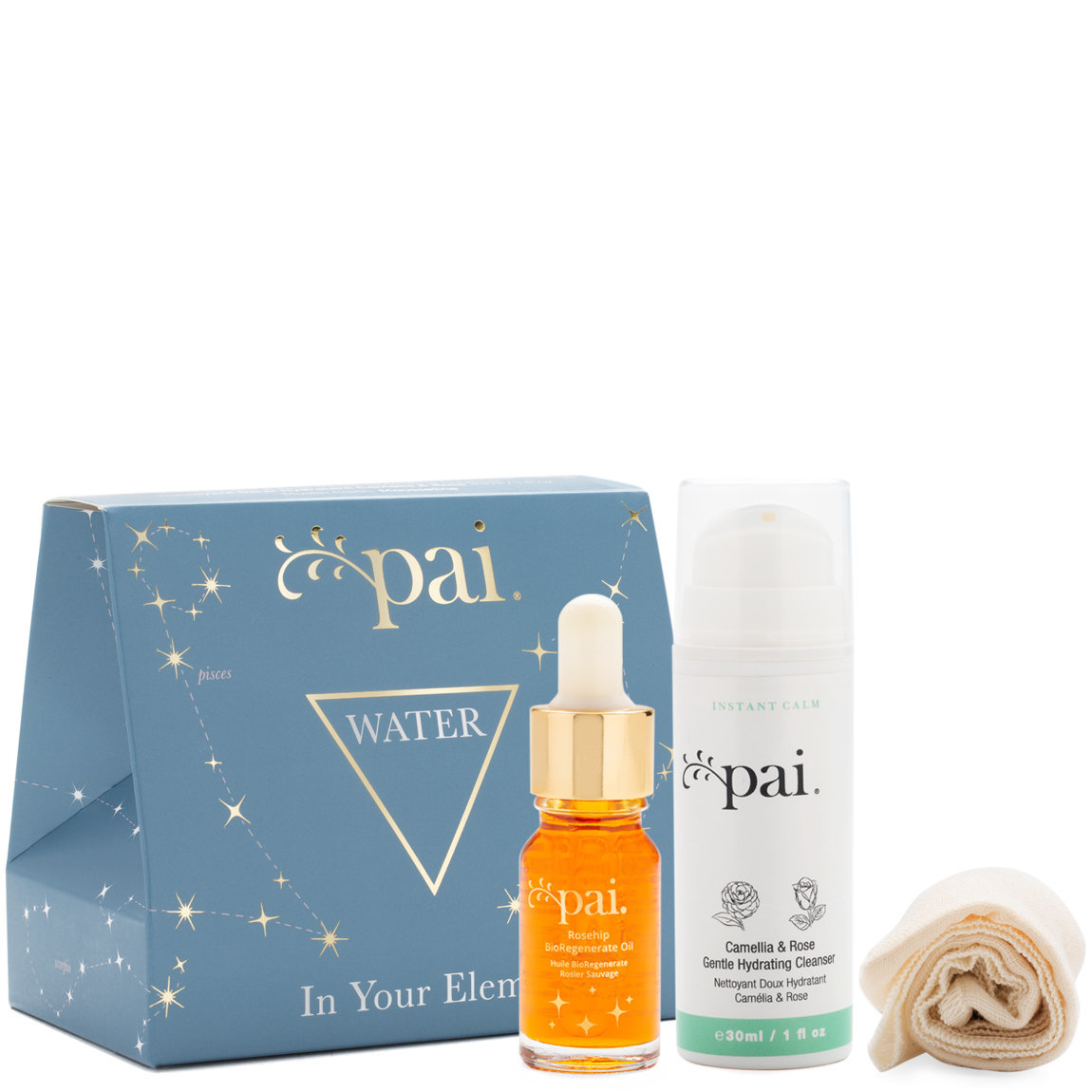 Pai Skincare In Your Element Gift Set Water product smear.