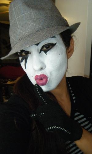 create your own unique mime look