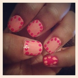 First attempt at boarder dots, not too shabby!