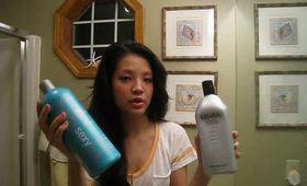 HAIR: Daily + Weekend Hair Routine (feat. Healthy Sexy Hair, Kenra, DermOrganic)