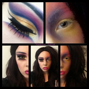 For the makeup_loooks33 contest on IG. Follow me - @kimpants :)
