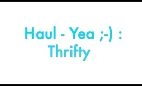 Haul Yea : Thrifty