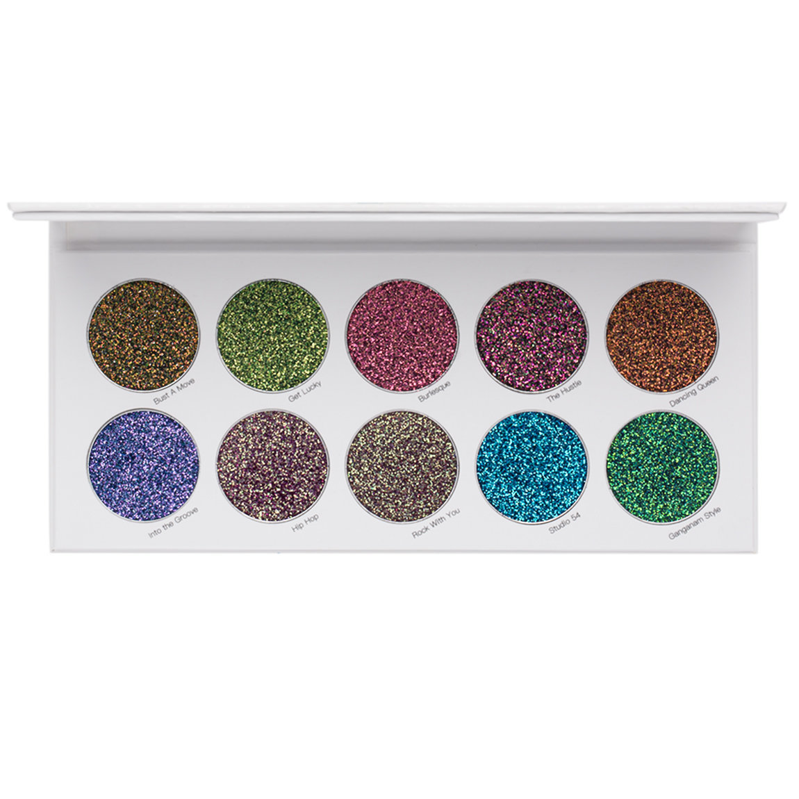 Lit Cosmetics Night Moves Shade Shift - Pressed Glitter Palette alternative view 1 - product swatch.
