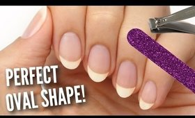 Shape Your Nails Perfectly Oval! | Tips, Tricks, and Nail Care!