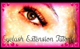 Eyelash Extension Tutorial!