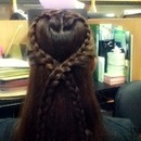 Heart Lace Braids