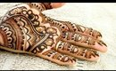 Modern Lotus Henna Pattering | Step by Step | Paisleys | Manisha Mistry