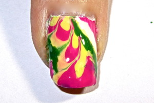 candy water marbling nail art to watch video tutorial for this look, SUBSCRIBE free to my youtube nailart channel: www.youtube.com/nailartbynidhi