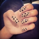 My Leo nails