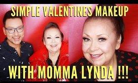 Simple Valentines Makeup Tutorial For Mature Women | Featuring Momma Lynda - mathias4makeup