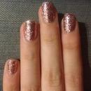 Rosegold Nails